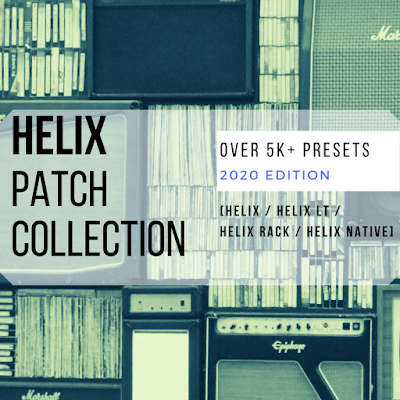 Helix Patch Collection | Presets for HELIX/RACK/NATIVE/LT