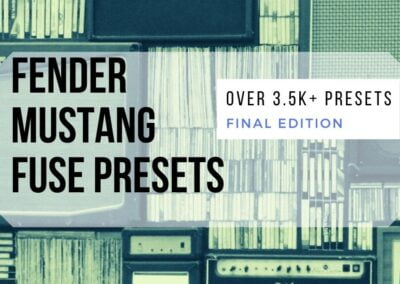 Fender Mustang Amplifier Series FUSE Presets