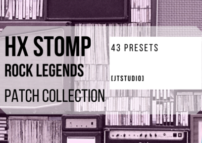 HX STOMP Rock Legends Patch Collection | Presets for HX STOMP (FREE DOWNLOAD)