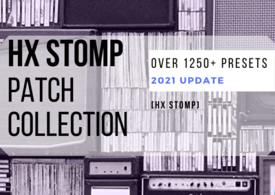 HX STOMP Patch Collection | Presets for HX STOMP (2021 Update)